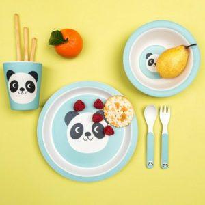Panda kids dinnerset