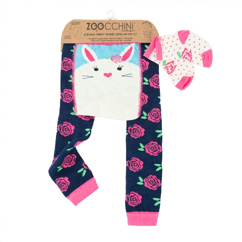 Zoocchini leggings Bunny