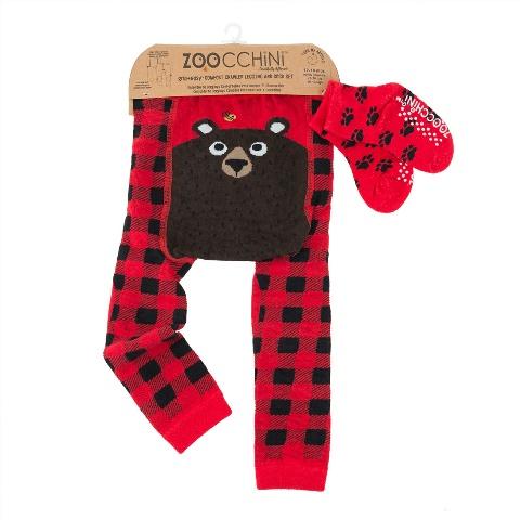 Zoocchini bear leggings