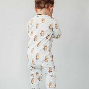ClayBear duckling sleepsuit